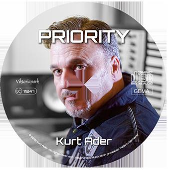 Kurt Ader PRIORITY CD