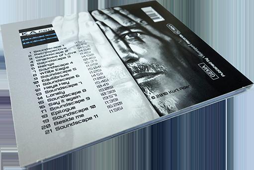 Kurt Ader PRIORITY CD-Cover Rückseite liegend