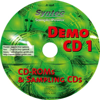 Syntec GmbH Demo-CD 1/98