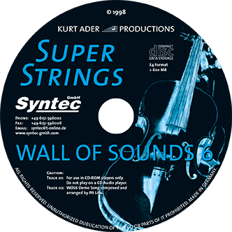 Syntec GmbH Wall Of Sounds 6 CD