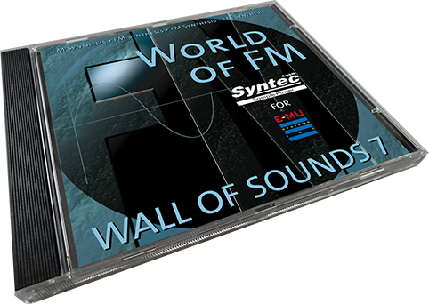 Syntec GmbH Wall Of Sounds 7 CD-Cover liegend