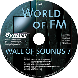 Syntec GmbH Wall Of Sounds 7 CD