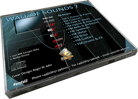 Syntec GmbH Wall Of Sounds 7 CD-Rückseite liegend