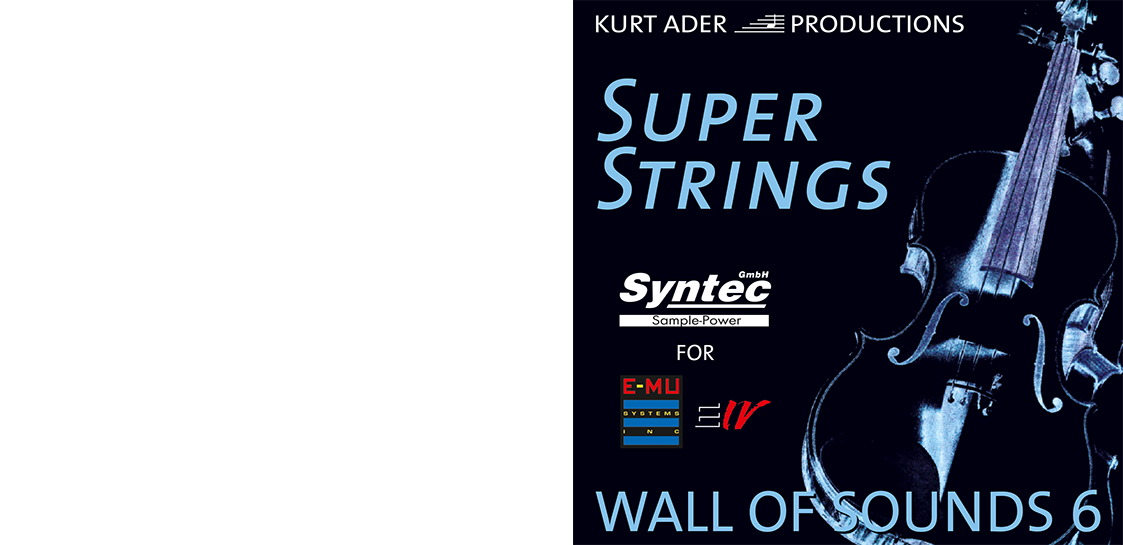 """Syntec GmbH Wall Of Sounds 6 """"Super Strings"""" Booklet Seite 1"""
